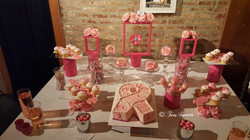 Breast Cancer Awareness Sweets Table