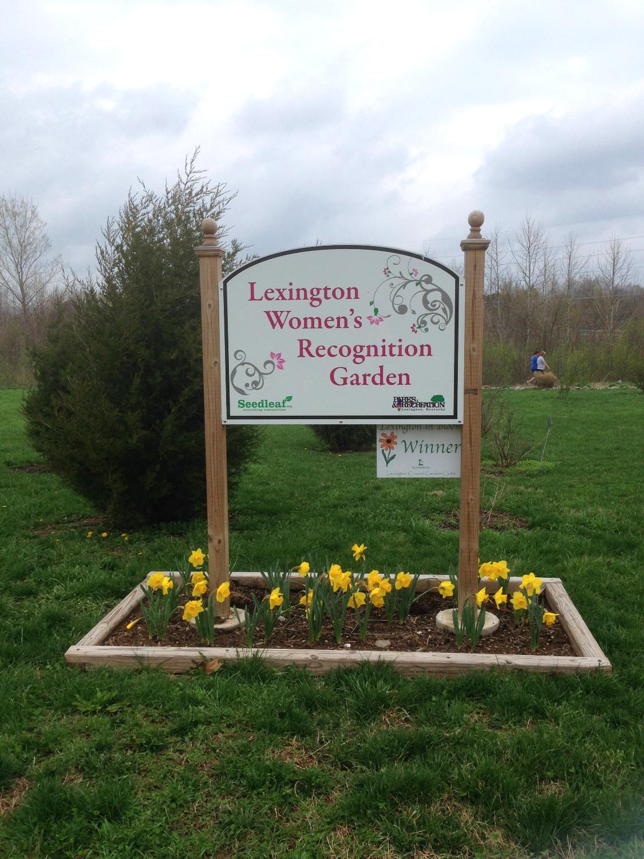 Women's Garden Sign