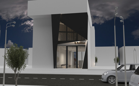 Icon Building Lobby- facade design