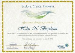 Creative Thinking Award