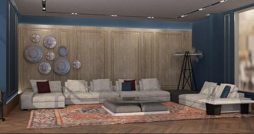 Zaki Villa- living room