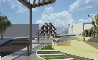 The Garden- Mashrabiya inspired installation