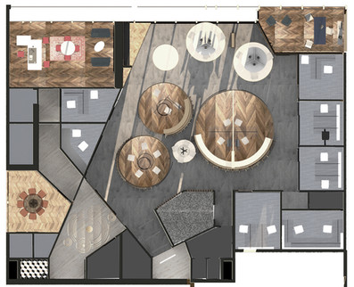 Attar Office- floor plan