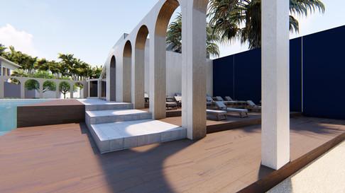 Beach Resort- pool side 01