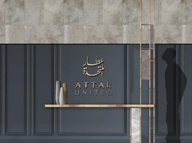 Attar Service Center- entrance elevation