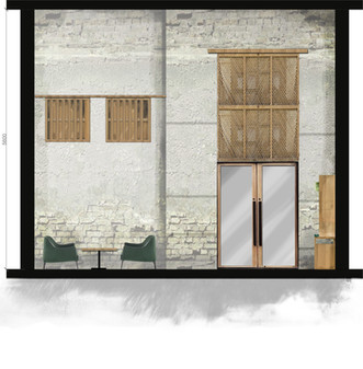 Bait Al Balad- entrance elevation