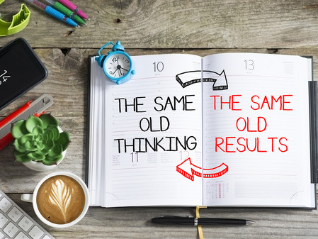 Don't worry about getting old. Worry about thinking old!