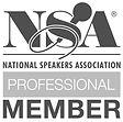 NSA National Speaker Association Professional Member