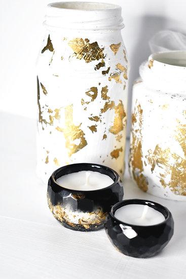 Golden Galaxy Tea Light Candle Holder