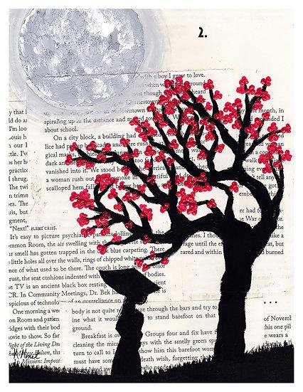 Blossuming tree