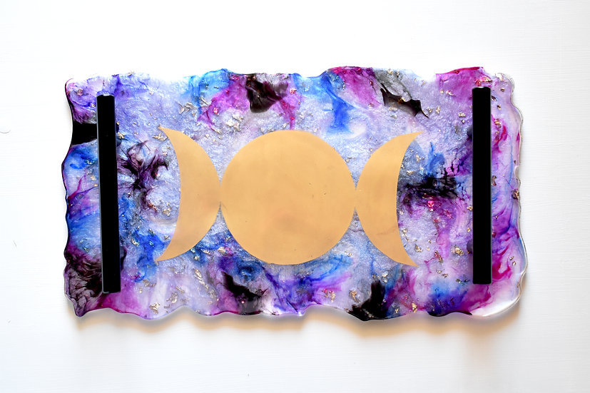 Moon Goddess Decorative Trays