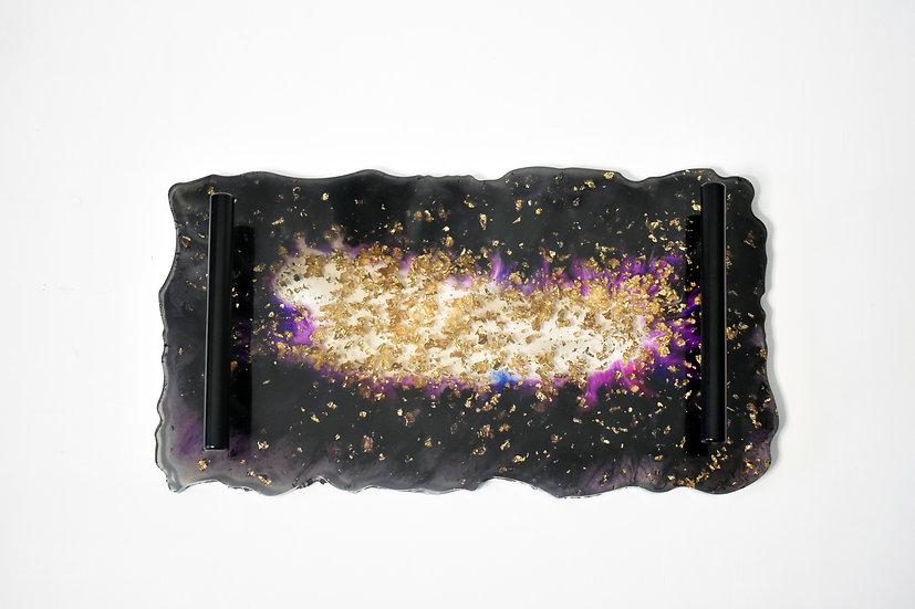 Midnight Purple Decorative Trays