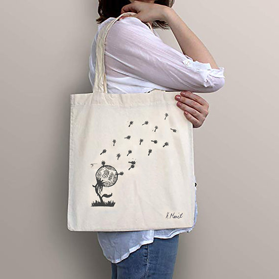 Wishing on the Moon Tote bag