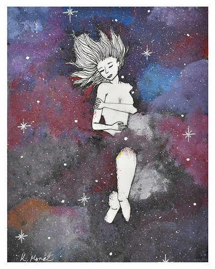 Drowning in the Stars Print