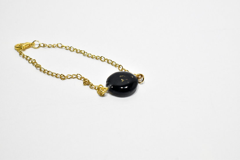 Golden Full Moon Bracelet