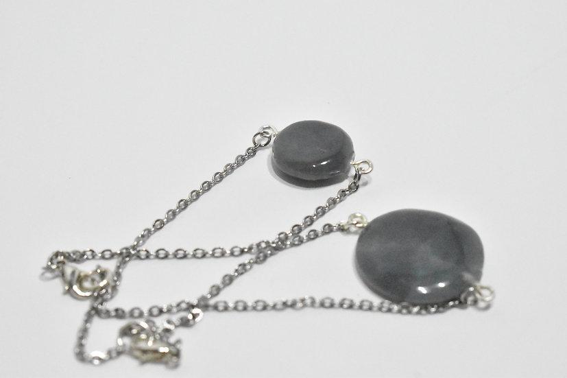 Silver Full Moon Bracelet