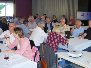 50 Personnes à COUTRAS pour découvrir les vins d' Afrique du Sud