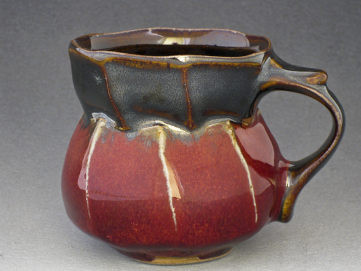Faceted Coffee Cup
