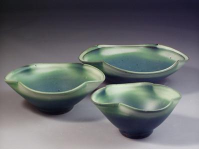 Nesting Flower Serving Bowls