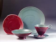 Asymmetrical Porcelain Dinnerware