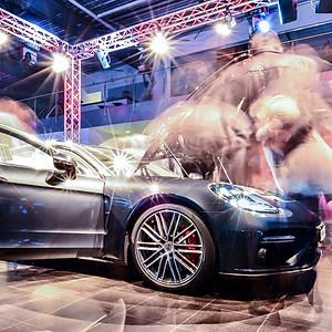 Porsche Panamera Präsentation P
