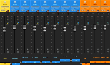 Mixing Session Example