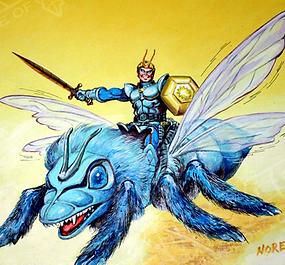 Two Kingdoms - Spidrax and Dargon