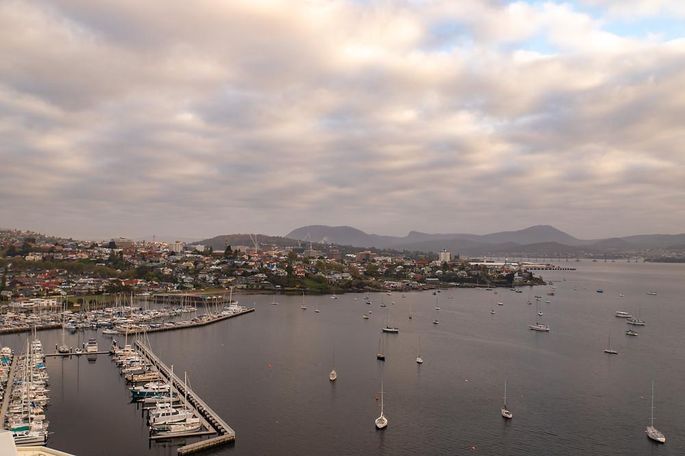 Hobart City Harbour