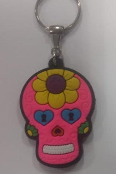Chaveiro Caveira Mexicana