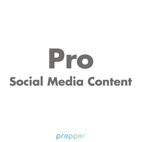 Pro Social Media Content