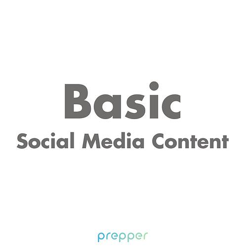 Basic Social Media Content
