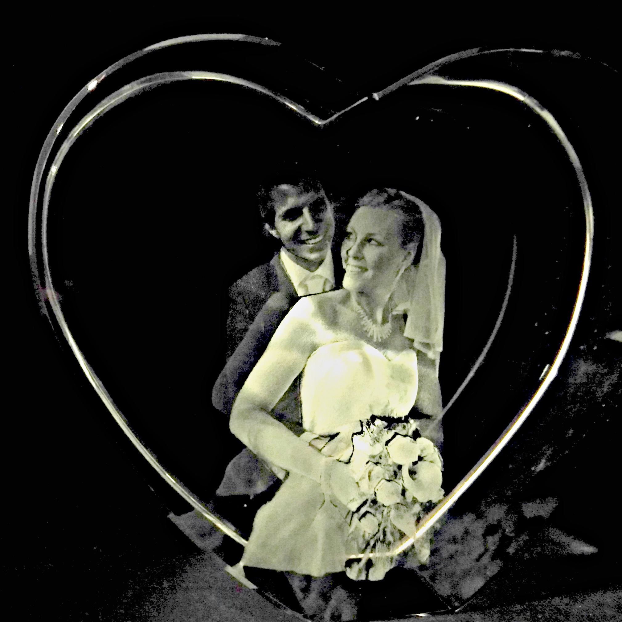 wedding in thick heart