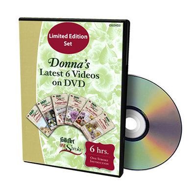 Donna's Lastest 6 Videos DVD Set