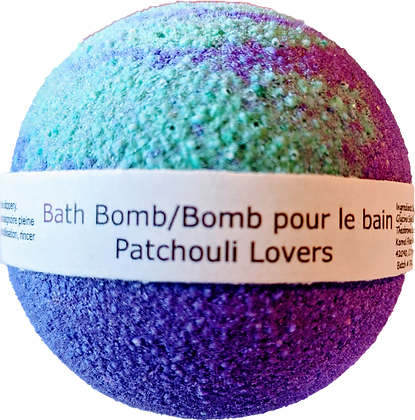Patchouli Lovers Bath Bomb