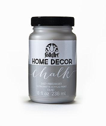Folk Art Home Decor Chalk Paint-Parisian Grey