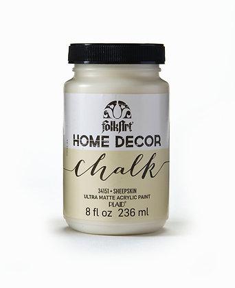 Folk Art Home Decor Chalk Paint-Sheepskin