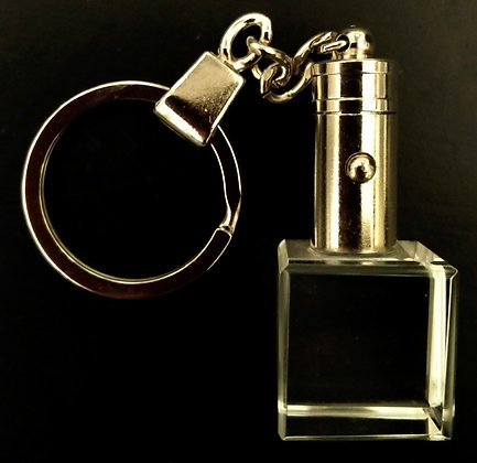 LED keychain - small cube