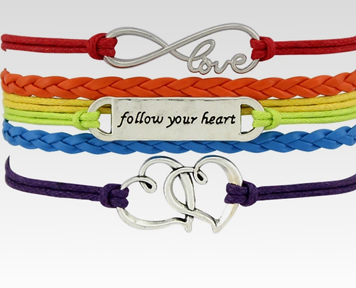 Bracelet- Follow your Heart