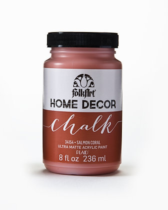 Folk Art Home Decor Chalk Paint-Salmon Coral