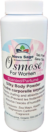 Osmos For Women Silky Absorbant Powder TALC FREE  scented - 146g