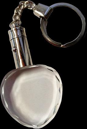 Heart LED Key Chain