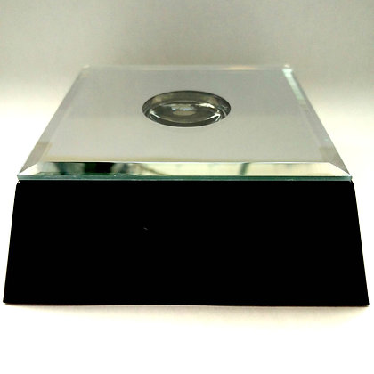 # 14 Large Square Mirrored Light Base