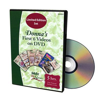 Donna's First 6 Videos DVD Set
