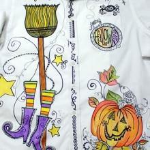PenDezign Halloween Shirt Project Packet