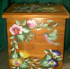 clothespin box
