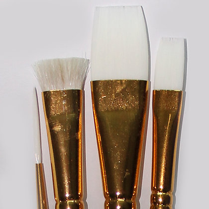 DewU Pro 4 Piece Glass Brush Set