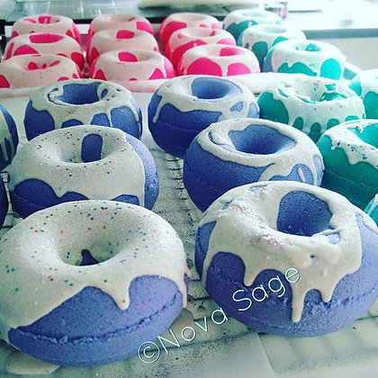 (W) Donut Bath Bombs X9