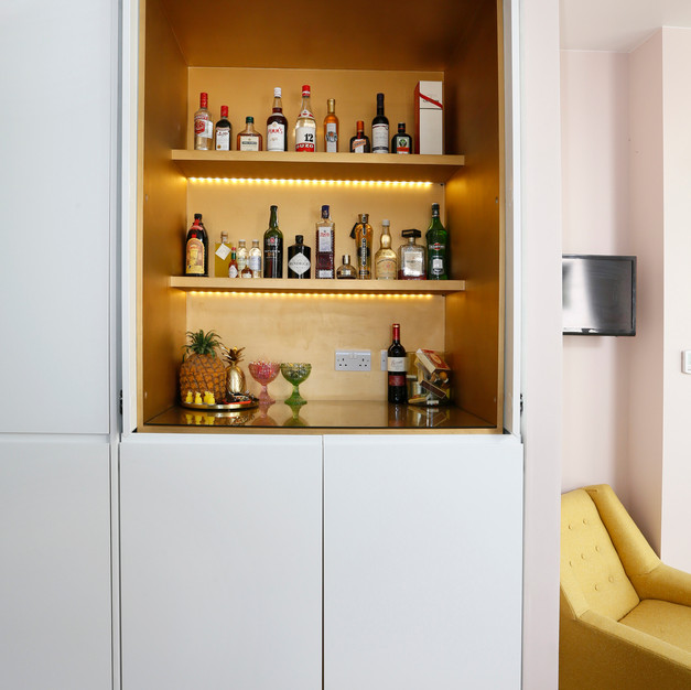 drinks bar cupboard