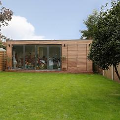 lost and found architects bepoke garden studio design Kingston Upon Thames, Surrey