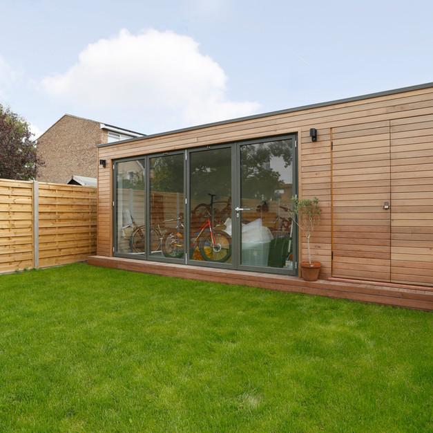 lost and found architects bespoke garden studio